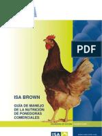 Guia de Manejo de La Nutricion ISA Brown