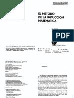 SOMINSKI - El Metodo de La Induccion Matematica