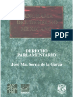 Derecho Parlamentario - Jose Maria Serna de La Garza