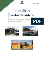 Jaarplan Parket BES 2014 DEF