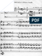 Toccata i Fuga D-moll J.S.bach - Miniatury Organowe(29)