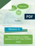 Sección 21 y 22 de  NIIF para PyMEs