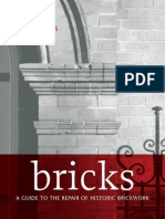 Bricks - A Guide to the Repair of Historic Brickwork (2009)