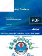 Verint Personalized Guidance Spanish