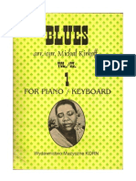 BLUES Piano Keyboard