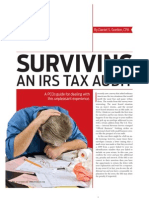 Surviving a Tax Audit