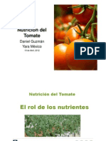 Nutrition of Tomato 2010 Guatemalav2