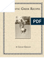 Greek Recipe Cook Book