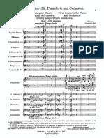 Liszt - Piano Concerto No.1
