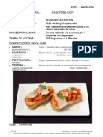 SPANISH Bruschetta Crostini Recipe
