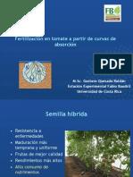 Gustavo Quesada - Nutrición Mineral del Tomate(a partir de curvas de absorcion)