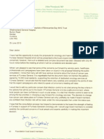Letter From John Woodcock MP