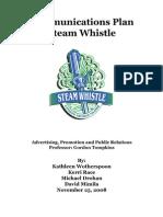 Steam Whistle Excerpt