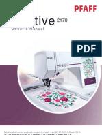 Pfaff Manual 2170