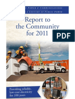2011 Longmont Power & Communications' Report to the Community