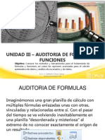 3. AUDITORIA DE FÓRMULAS