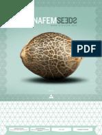 Dinafem 2013 - Katalog z nasionami marihuany.