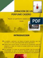 Elaboracion de Un Perfume Casero Proyecto