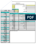 AXIA Pre Qualification Excel Budget Spreadsheet