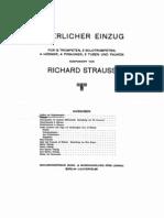 Strauss - Feierlicher Einzug