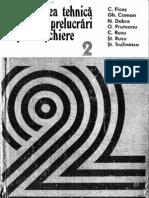 Picos Volumu II - Normarea Tehnica Pentru Prelucrari Prin Aschiere