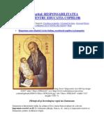 Paisie Aghioritul - Cresterea Copiilor