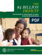 NYC Early Childhood Education Report