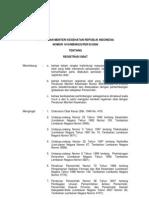 PERMENKES 1010 Th 2008 (REGISTRASI OBAT).pdf