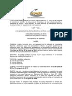 Convocatoria Concurso Nacional de Tesis sobre Estudios Electorales SOMEE 2013
