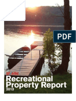 RE/MAX Recreational Property Report 2013