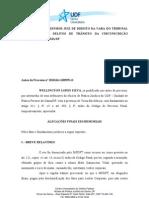 6 - ALEGAÇÕES FINAIS EM MEMORIAIS - TRIBUNAL DO JÚRI (SIMULADO)