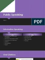 Public SpeakingWK62013X2