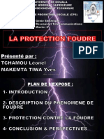 Exposé PROTECTION FOUDRE