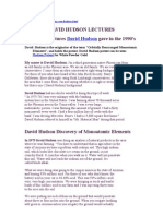 David Hudson Lectures