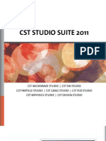Cst Studio Suite 2011 Brochure