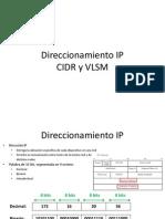 CIDR-VLSM