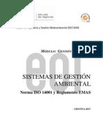 Componente Digital SGA ISO 14001 OEI