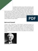 Biografias SALOMON KONICK, Bertrand Russell y Varios