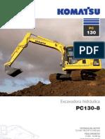 Excavadora PC130-8 Komatsu