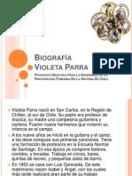 Bio Graf a Violeta Parra