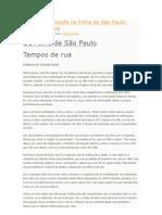 Artigo de Randolfe na Folha de São Paulo