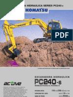 Excavadora PC240 Komatsu