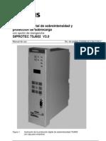 7SJ602x Manual A1 V030xxx Sp