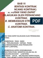 Hukum Kontrak 6 Implementasi Kontrak Merancang Kontrak