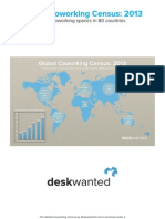 Global Coworking Census 2013