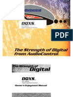 Audio Control DQXS Owners Manual