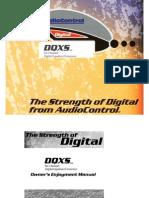 Audio Control DQXS Owners Manual