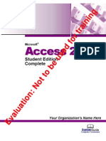 Access Tutorial 2003