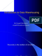 ACM IntrotoDW-Data Warehousing