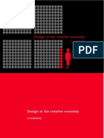 Design in the Creative Economy a Summary